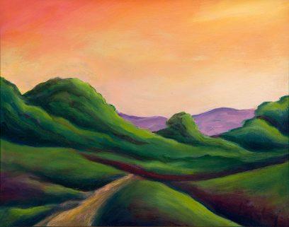 Jeffrey Kirby – Dusk, Toward the Mountains