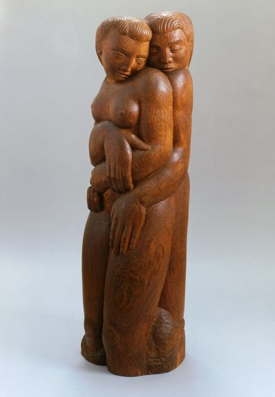 Brents Carlton - Embracing Couple