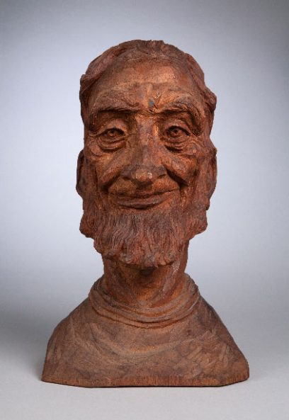 Emil Janel – Bust of Bearded Man