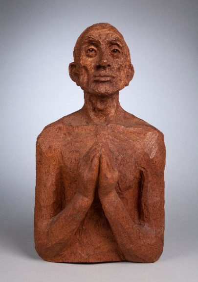 Emil Janel - Bust of Praying Man