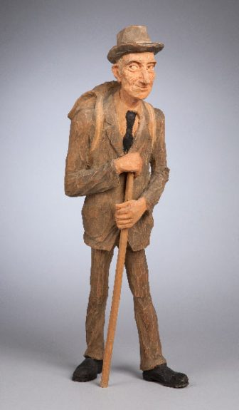 Emil Janel - Man with Backpack and Cane