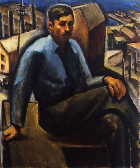 Robert Gilbert - Laborer Resting