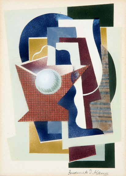 Frederick I. Kann - Untitled (Geometric Abstraction)