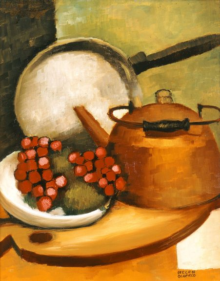 Helen Clark Oldfield - Tea Kettle and Pan