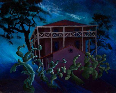 Marion Randall Parsons – Victor Castro's Adobe, San Pablo