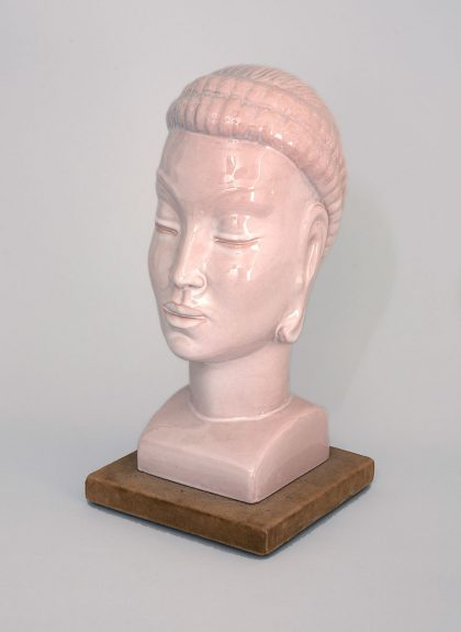 Nina Saemundsson - Untitled (Head of a Woman – Mauve)