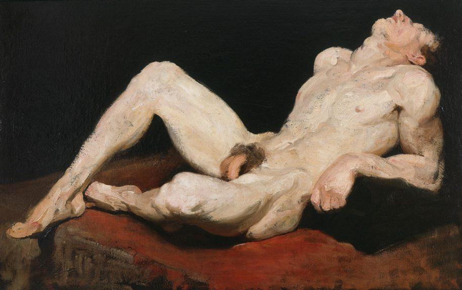 Rex Slinkard - Untitled (Reclining Nude)