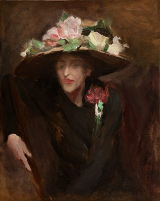 Rex Slinkard - Untitled (The Flowered Hat)