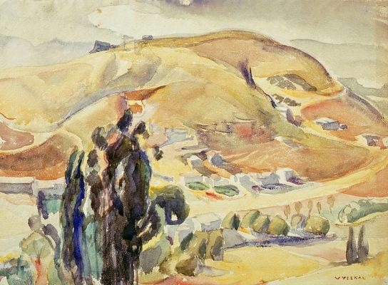 Edouard Vysekal - Hills - Autumn Colors