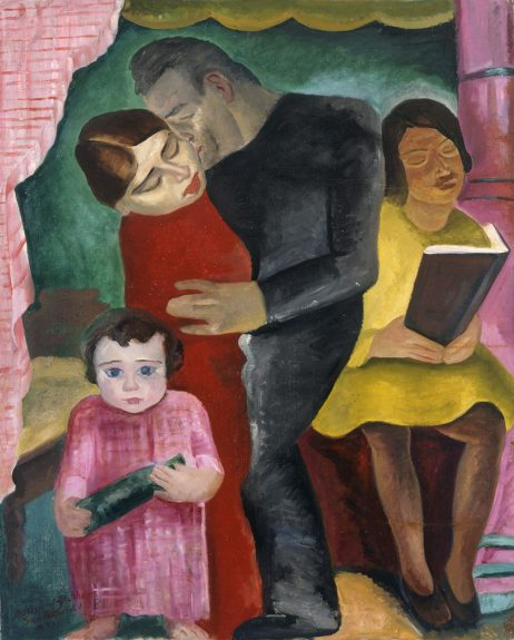 Bernard Baruch Zakheim - Untitled (The Family)