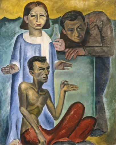 Bernard Baruch Zakheim – Untitled (The Interloper)