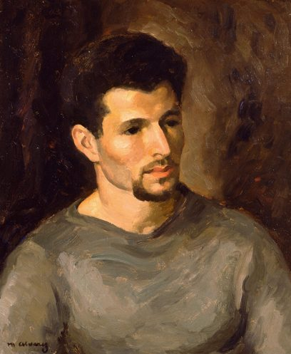 Mabel Alvarez – Man With A Beard (Portrait of Artist Herman Cherry)