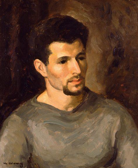 Mabel Alvarez - Man With A Beard (Portrait of Artist Herman Cherry)