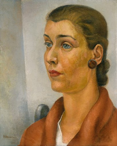 Victor Arnautoff – Untitled (Lady with Earring)