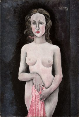 Fernande Barrey - Untitled (Nude)