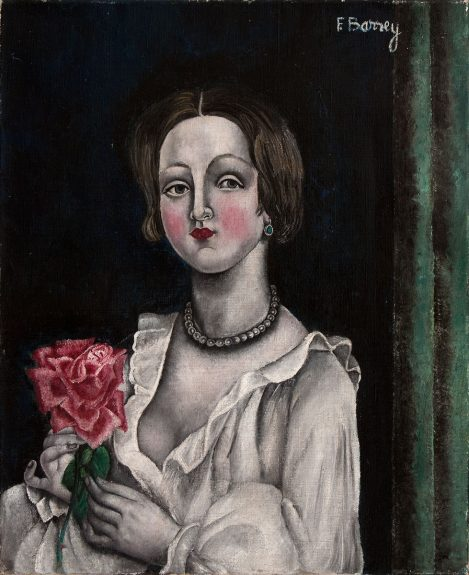 Fernande Barrey - Untitled (The Rose)