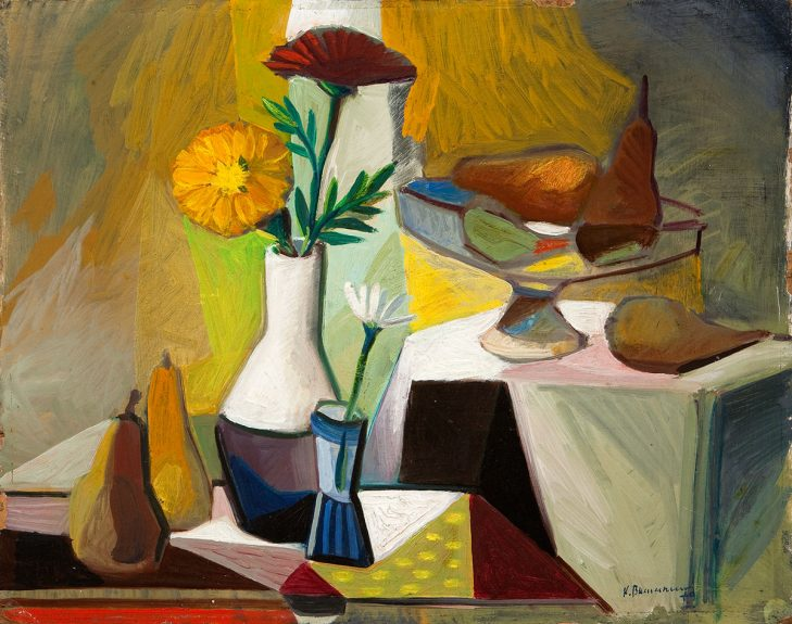 Karl Baumann - Untitled (Still Life with Pears)