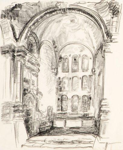 Raymond Boynton – Untitled (Architectural Interior)