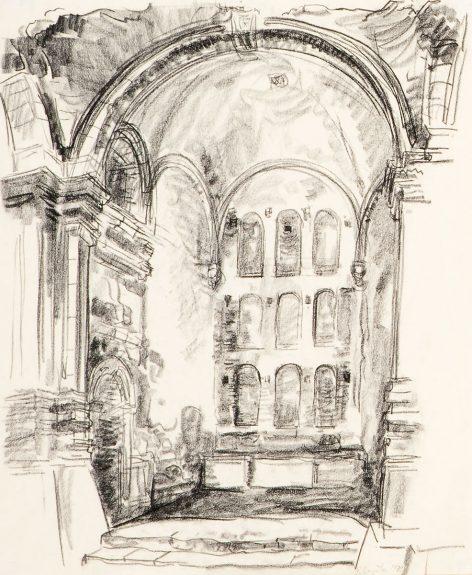 Raymond Boynton - Untitled (Architectural Interior)