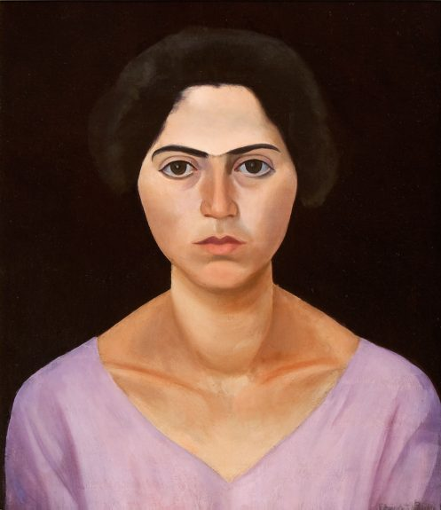 Edward Bruce - Untitled (Portrait of a Woman)