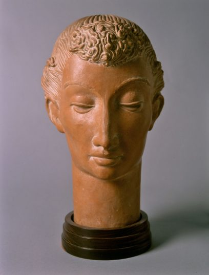 Brents Carlton – Head of a Young Girl (Decorative Head)