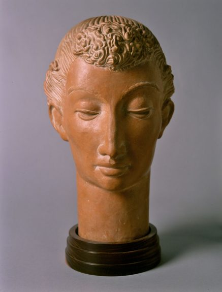 Brents Carlton - Head of a Young Girl (Decorative Head)