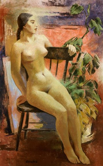 Russell Cowles - Egyptian Nude