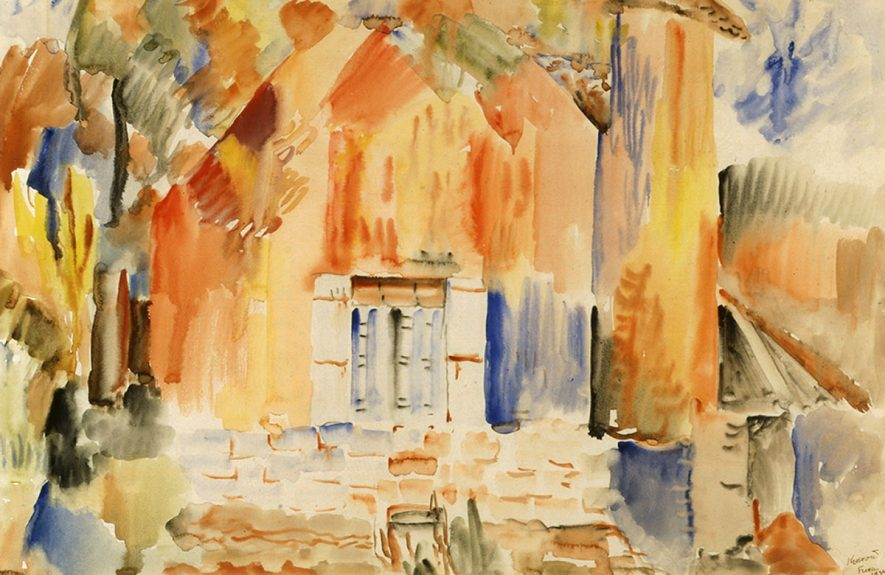 Peter Krasnow - Untitled (French Landscape No.2)