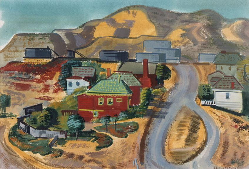 Erle Loran - Red House