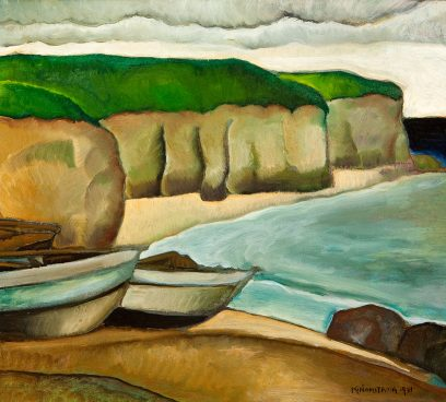 Koichi Nomiyama – Untitled (Beach Cove and Boats)