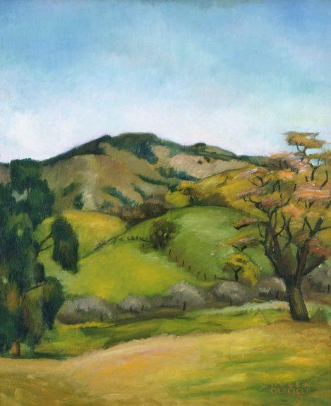 Helen Clark Oldfield - Marin Hills - Spring