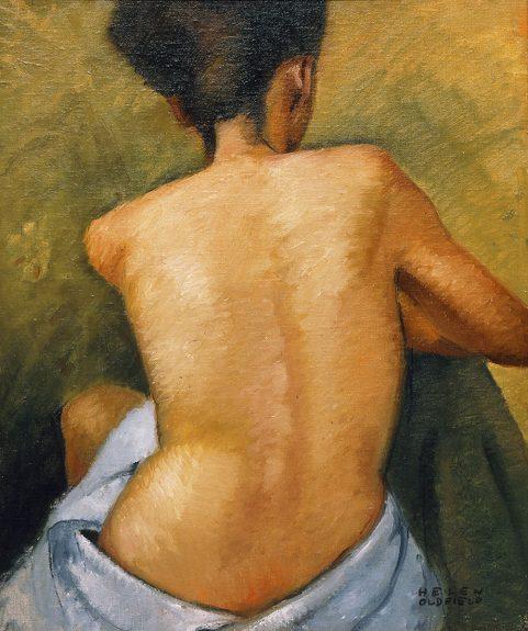 Helen Clark Oldfield - Nude Back