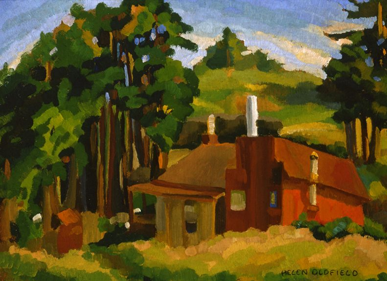 Helen Clark Oldfield - Ranch House at Santa Rosa