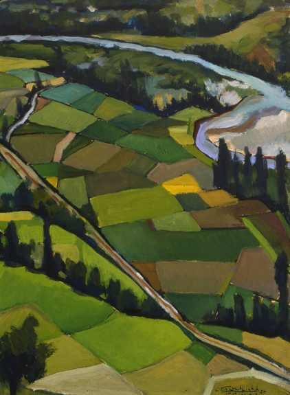 Otis Oldfield - Landscape - St Pastous