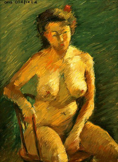 Otis Oldfield – Sitting Figure