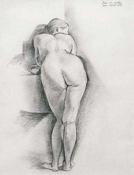 Otis Oldfield - Study for 'Figure'