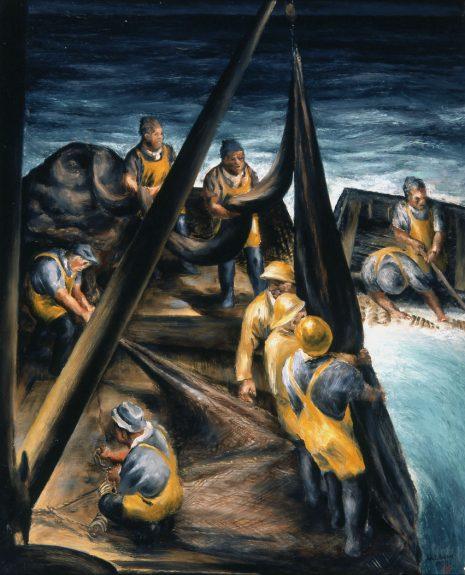 John Langley Howard - Night Fishing No. 1