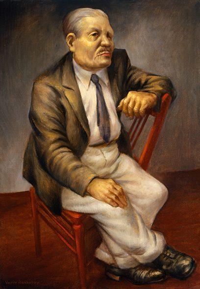 Victor Arnautoff – Man With Blue Tie