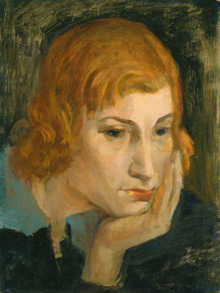 Victor Arnautoff - Woman's Head