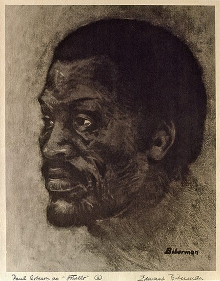 Edward Biberman - Paul Robeson as Othello