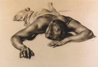 Francis de Erdely – Resting Man