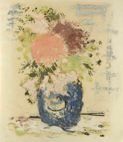 Lucien Labaudt – Flowers in a Vase