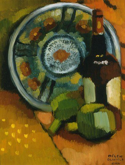 Helen Clark Oldfield – Artichokes and Wine