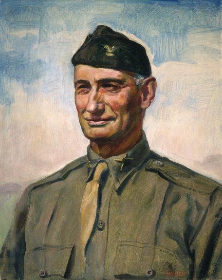 Ejnar Hansen - Portrait of General Stilwell