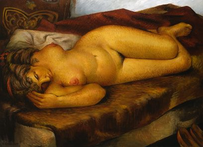 Victor Arnautoff – Untitled (Lady in Repose)