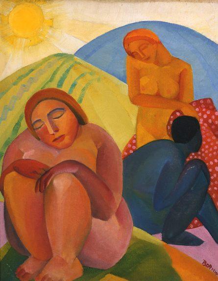 Dorr Bothwell - Figures in a Landscape