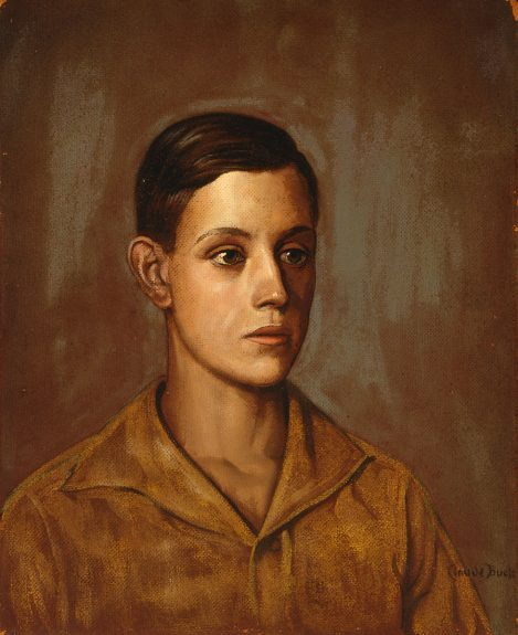 Claude Buck - Portrait of a Young Man