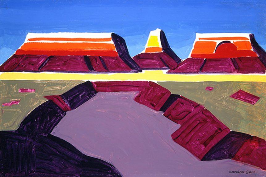 Conrad Buff - Desert Landscape