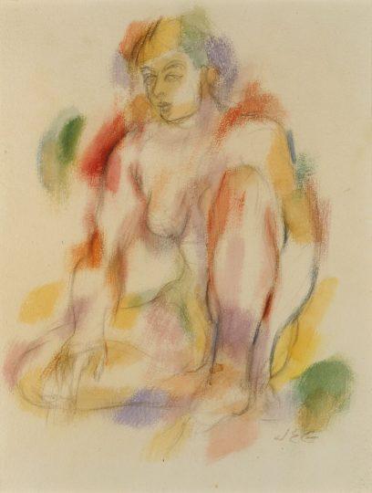 John Emmett Gerrity – Seated Female Nude