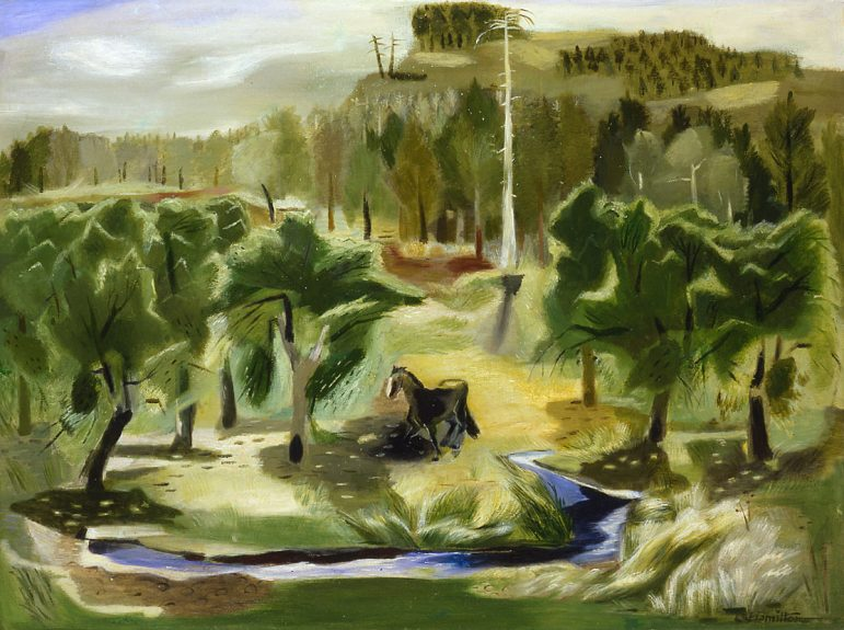 Leah Rinne Hamilton - An Old Orchard